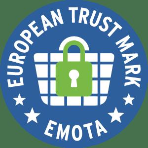 Ausgezeichnet mit dem European Trustmark für sicheres Onlineshoppen